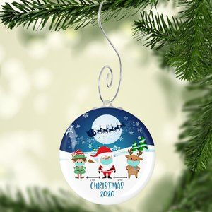 NWT Christmas 2020 Quarantine Christmas Ornament